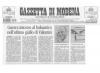 Gazzetta di Modena, 16 marzo 2005