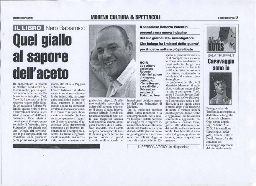 Il Resto del Carlino, 26 marzo 2005