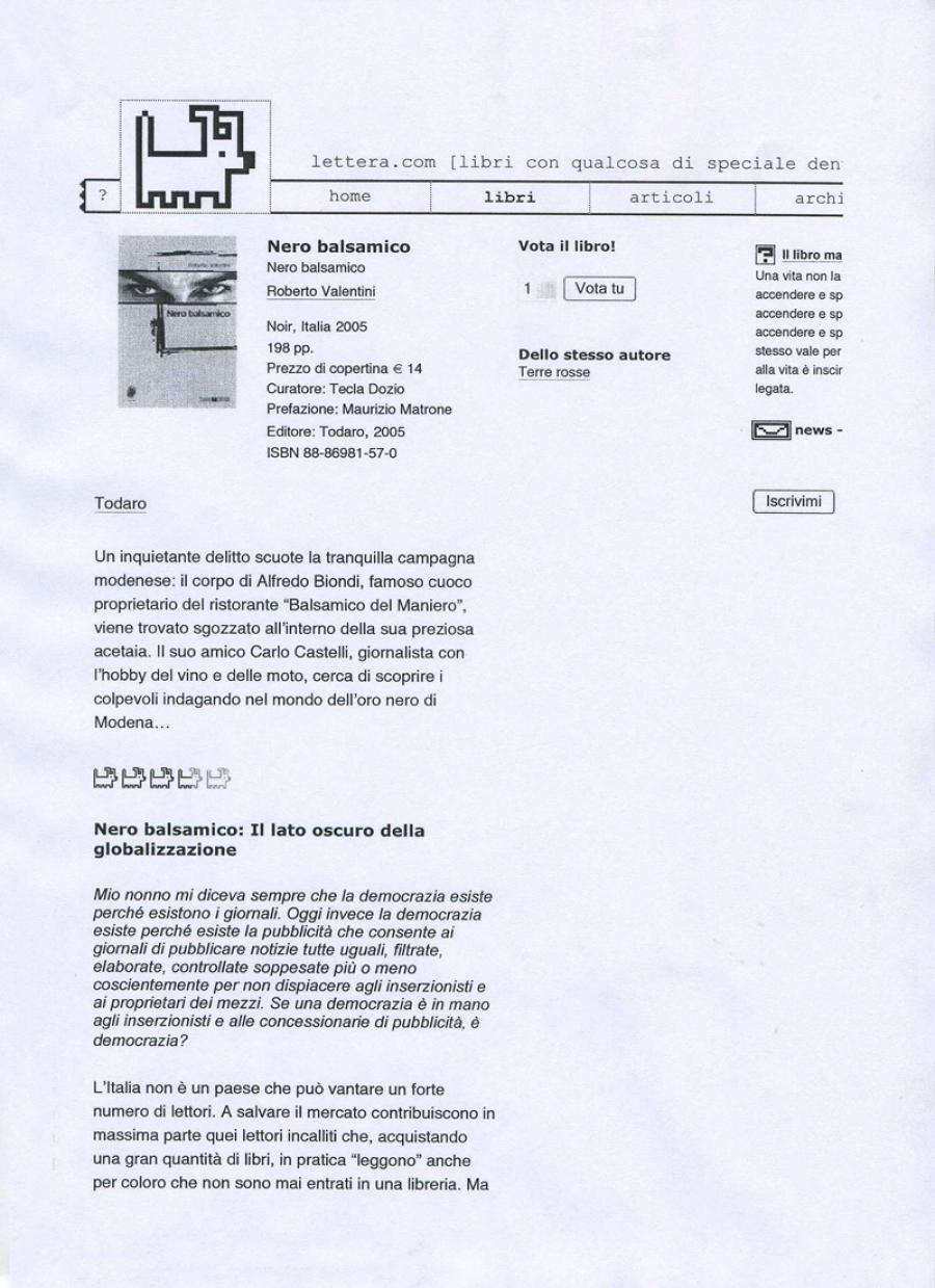 www.lettera.com, 7 giugno 2005