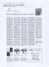 Il sassolino, 1 novembre 2005